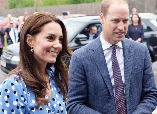 Príncipe William e sua esposa Kate Middleton (Foto: Reprodução Instagram)
