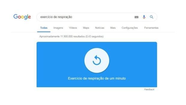 Se você está estressado ou ansioso há um recurso que pode servir para você  (Foto: Google/via BBC News Brasil)