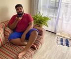 Paulo Vieira na sua casa | Arquivo pessoal