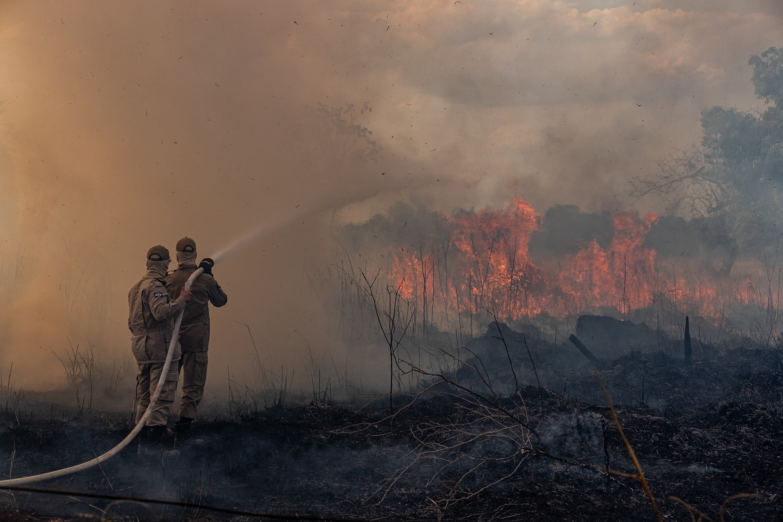 MT já registrou mais de 22,6 mil focos de queimada e brigadistas de outros estados ajudam no combate ao fogo