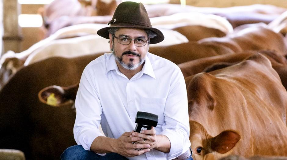 Xisto Alves, da JetBov: meta é chegar ao final de 2018 com 4 mil fazendas cadastradas (Foto: Caio Palazzo)