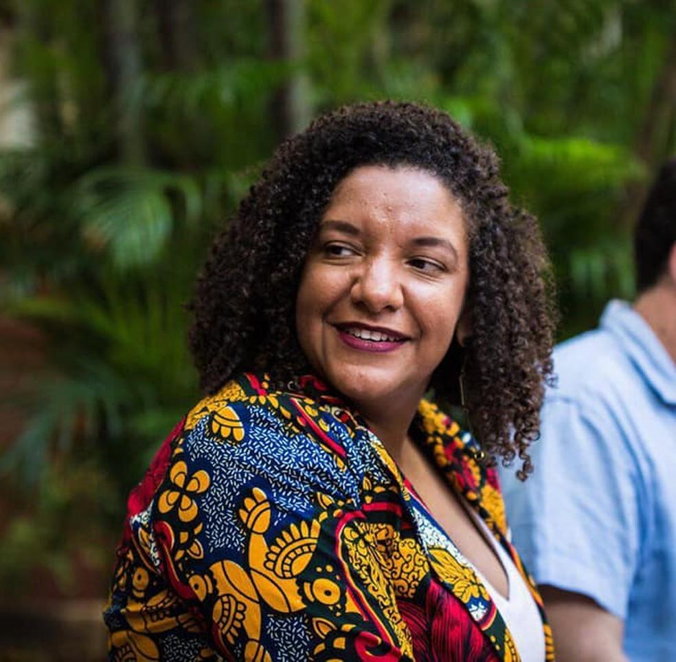 Renata Souza, deputada pelo PSOL — Foto: Reprodução Facebook