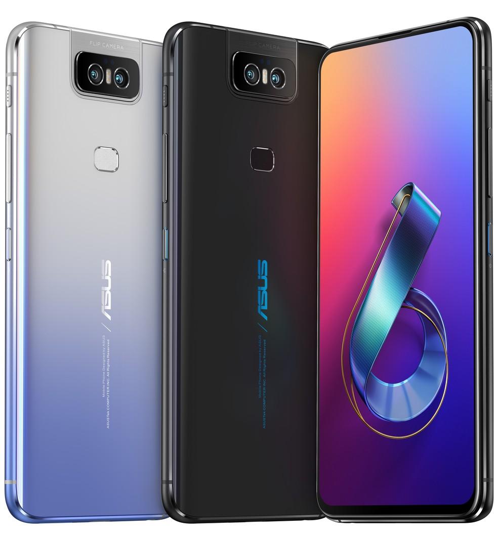 Tela do Zenfone 6 tem 6,4 polegadas — Foto: Divulgação/Asus
