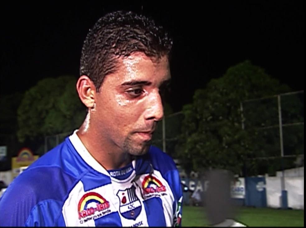 Leandro Gama Barros, de 34 anos, morreu na noite da quarta-feira (21) — Foto: TV Globo/Reprodução