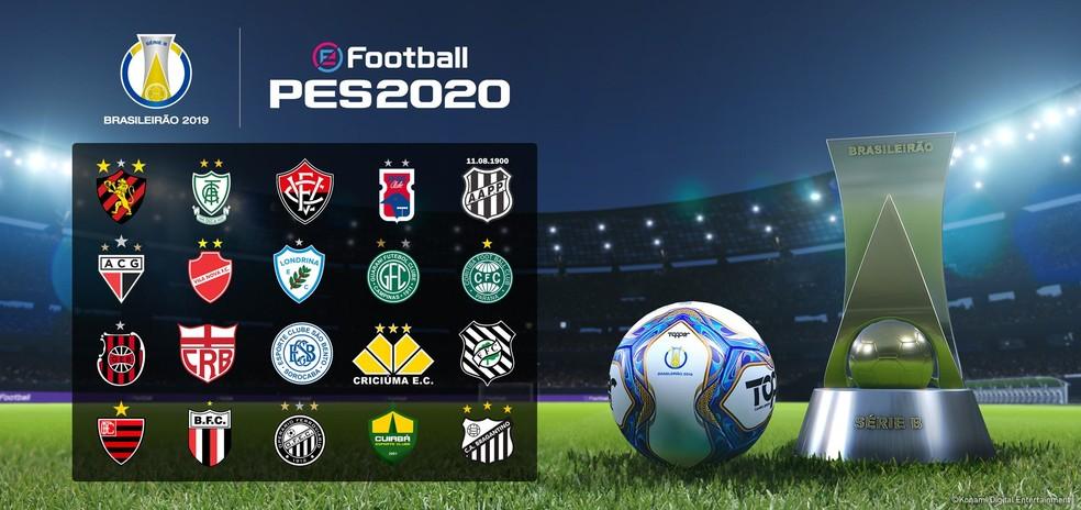 Pes 2020 Konami Anuncia Serie B Do Brasileirao E Exclusividade Com Atletico Mg Pes Sportv