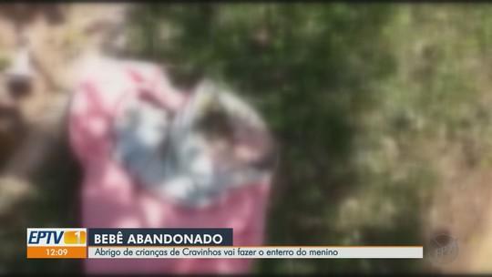 Corpo de recém-nascido abandonado em calçada vai ser enterrado em Cravinhos, SP