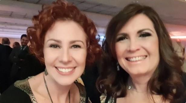 Carla Zambelli e Bia Kicis