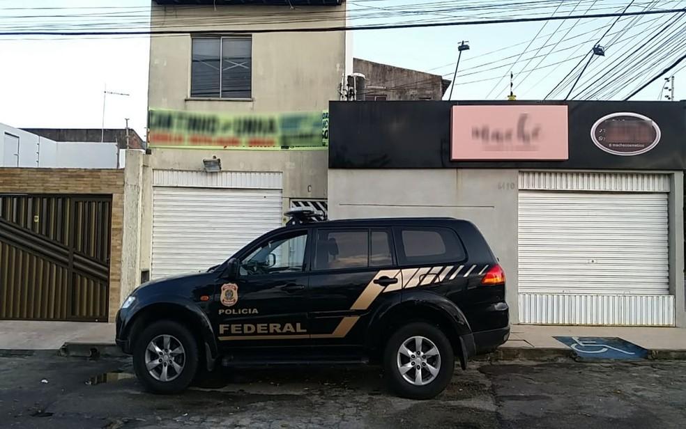 Operação da PF em Sergipe contra fraude de 2,3 mi em recursos do SUS — Foto: PF/SE/Divulgação