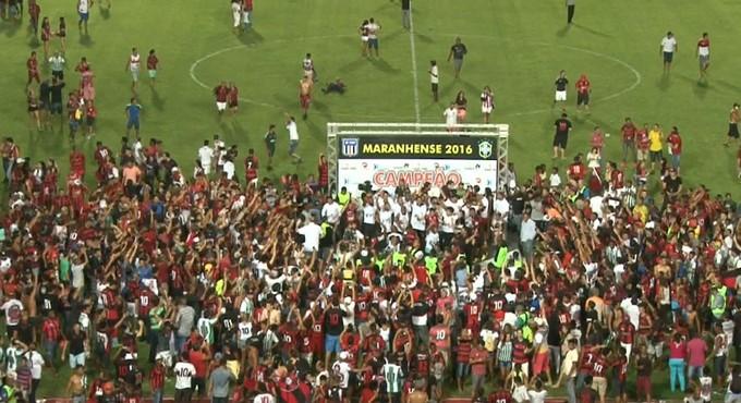 torcida gramado - Abertura do Campeonato Maranhense 2017 será em Barra do Corda - minuto barra