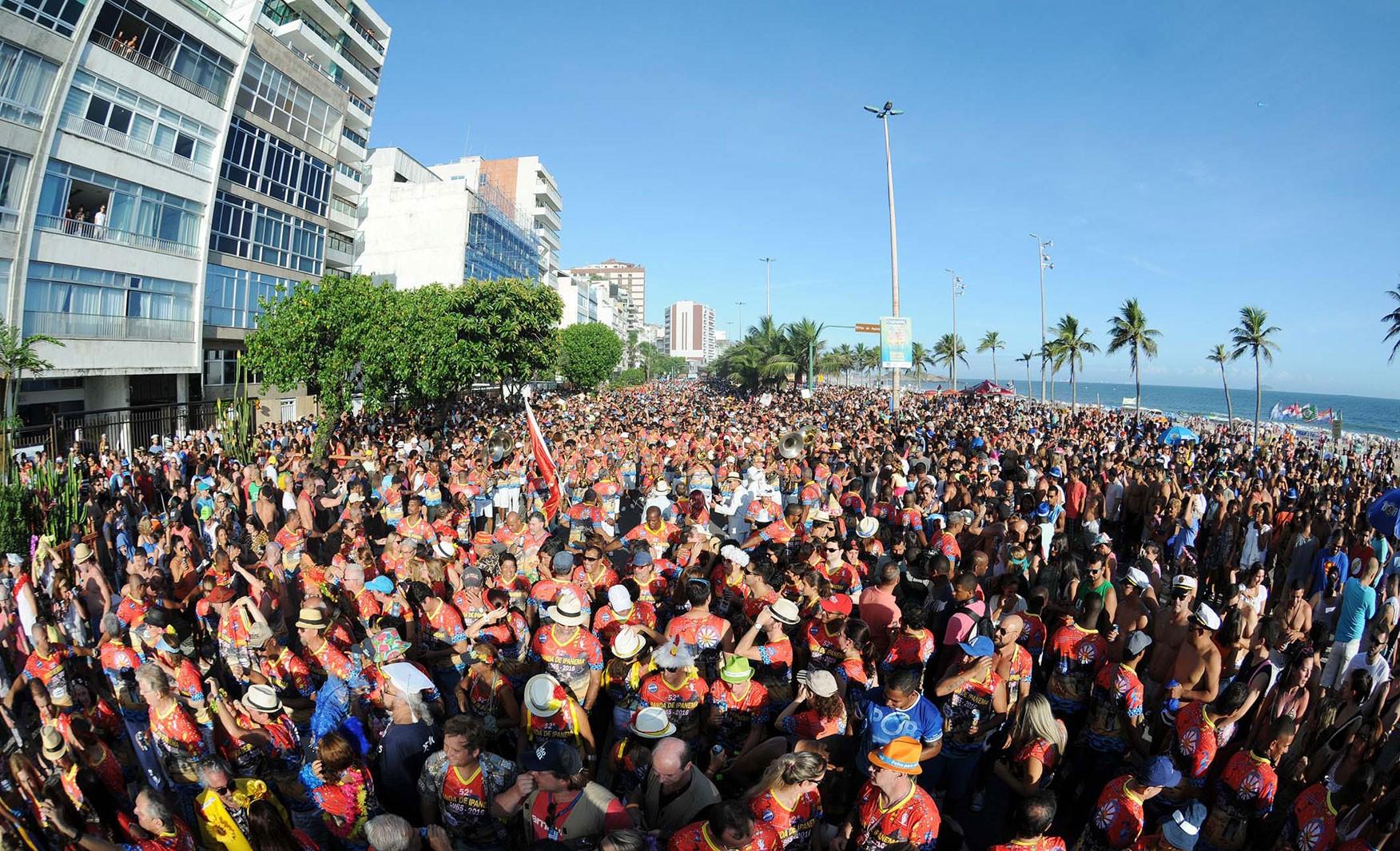 Fim de semana terá 14 blocos de pré-carnaval nas ruas do Rio