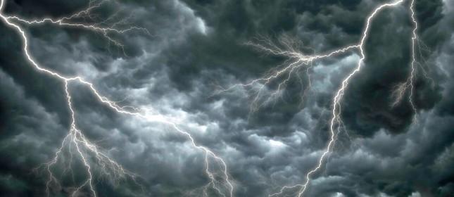 Raios e tempestade  (Foto: Arquivo Google)