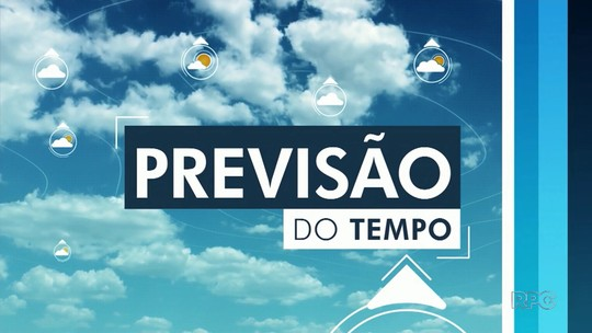 Terça-feira será ensolarada nas Regiões Central e Sul do Paraná