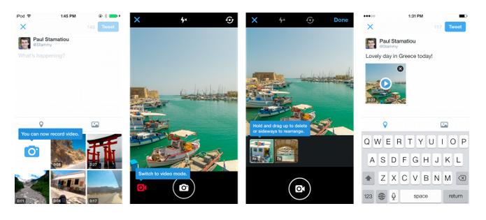 App para iOS e Android agora permite gravar e editar vídeos (Foto: Divulgação)