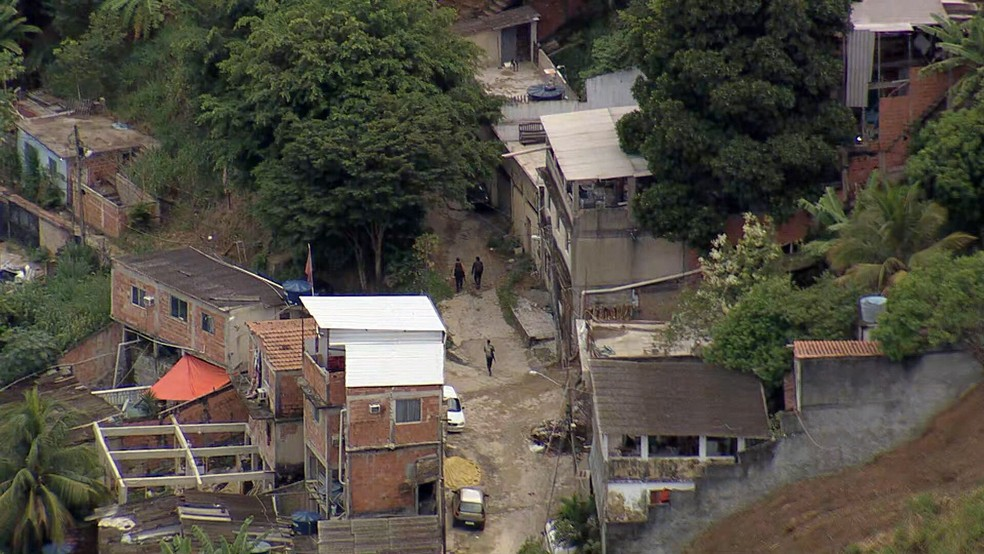 Tiroteios diminuíram após a morte de Ecko no Rio — Foto: Reprodução/TV Globo