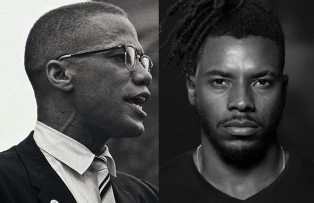 Samuel Melo viverá o ativista Malcolm X, um dos maiores defensores do nacionalismo negro (Foto: Reprodução)