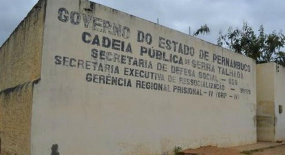 Cadeia de Serra Talhada — Foto: Divulgação