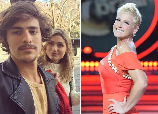 Bruno Montaleone com Sasha; Xuxa (Foto: Reprodução/Instagram)