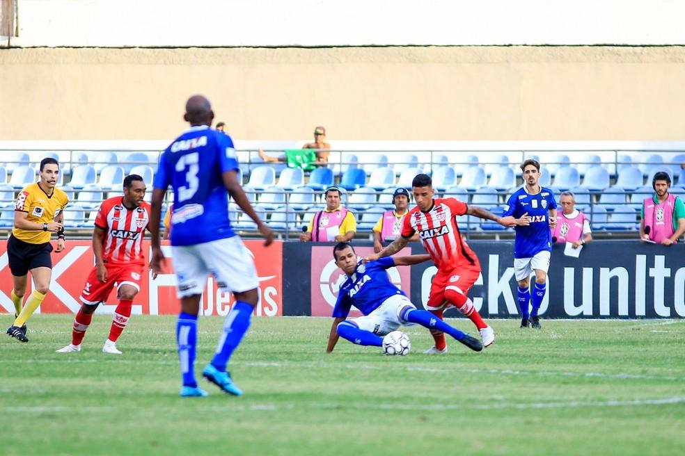CRB e CSA se encontram na quarta rodada do Alagoano — Foto: Ailton Cruz/Gazeta de Alagoas