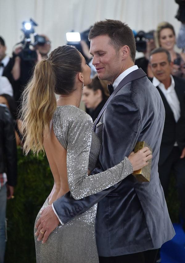 Tom Brady e Gisele Bundchen no MET Gala 2017 (Foto: Getty Images)