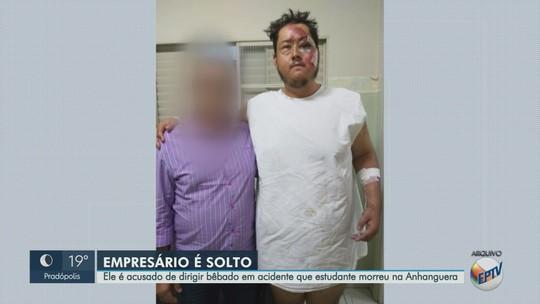 Justiça manda soltar acusado de dirigir bêbado e causar acidente que matou amigo em Guará, SP