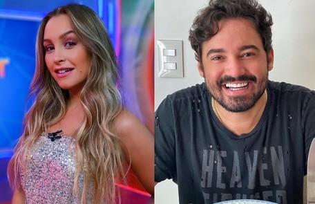 Carla Diaz trocou beijos com o cantor Fernando Zor num camarota na Sapucaí no carnaval de 2019. Atualmente, ele namora a também cantora Maiara Reprodução