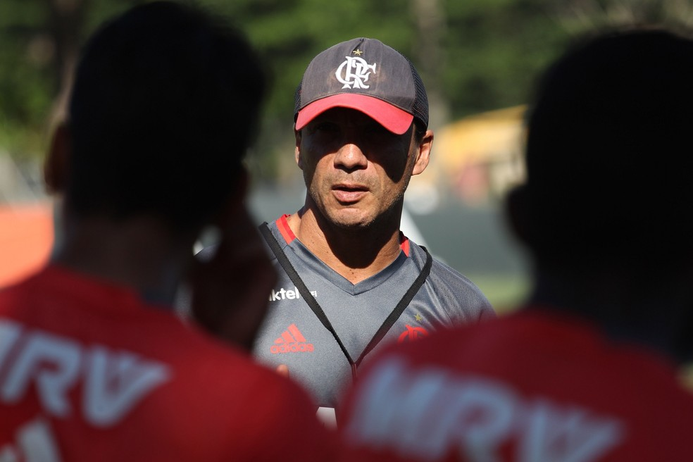 Zé Ricardo foi demitido do Flamengo neste domingo. Eliminação precoce na Libertadores iniciou desgaste com torcida rubro-negra (Foto: Gilvan Souza - Divulgação, Flamengo)