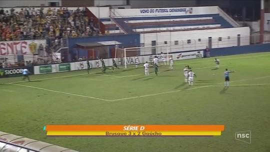 Waguinho se anima com o Brusque e prevê equipe como uma das cinco grandes de SC