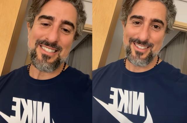 Marcos Mion anunciou início das gravações do 'Caldeirão' (Foto: Reprodução)