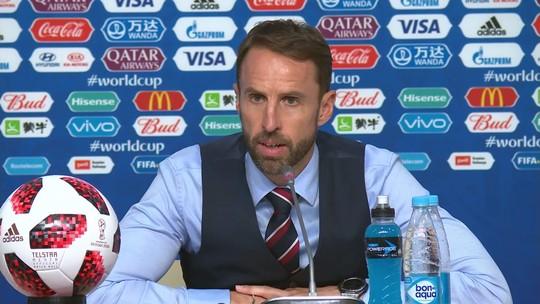"Gareth Southgate sobre a Copa dos ingleses: ""Foi uma aventura fantástica"""