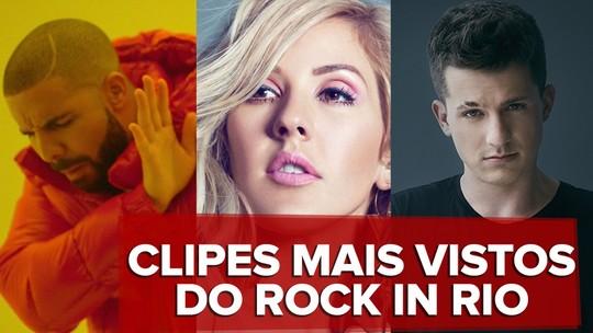 Hits do Rock in Rio: veja as mais ouvidas do line-up e saiba quem é novato que surpreende no topo