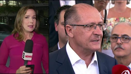 Justiça Eleitoral determina bloqueio de bens de Alckmin