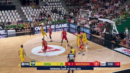 Liderada por Varejão e Benite, seleção de basquete bate Montenegro no Torneio de Lyon