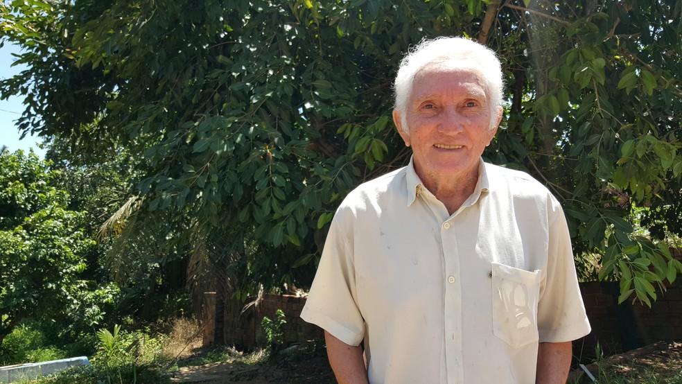João Vilhena foi um dos pioneiros na comunicação em Ji-Paraná. (Foto: Pâmela Fernandes/G1)