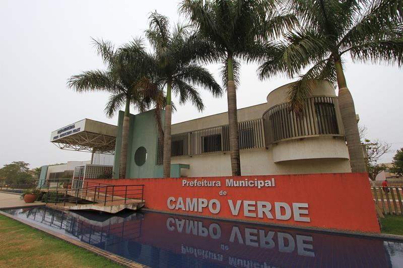 Prefeitura de Campo Verde (MT) abre processo seletivo com 19 vagas e salário de até R$ 5,1 mil