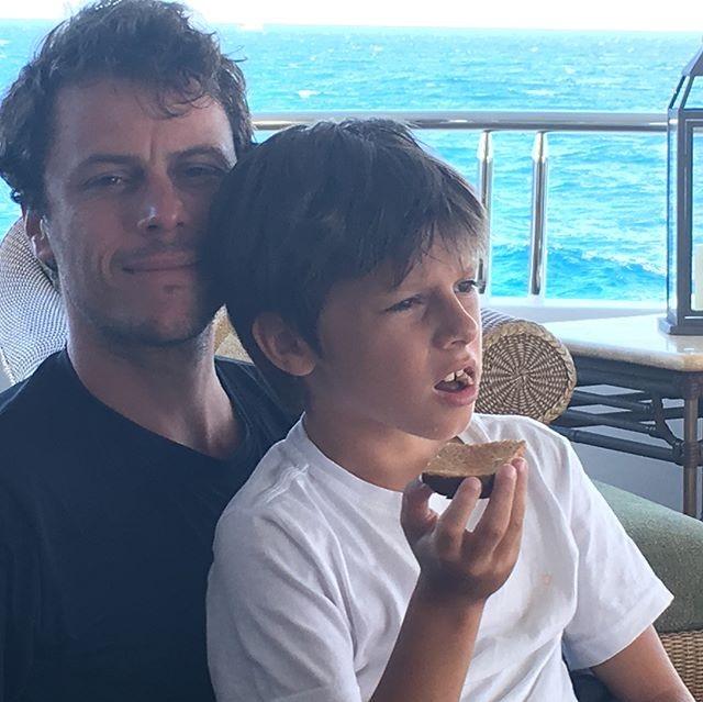 Tiago Worcmann e José (Foto: Reprodução/Instagram)