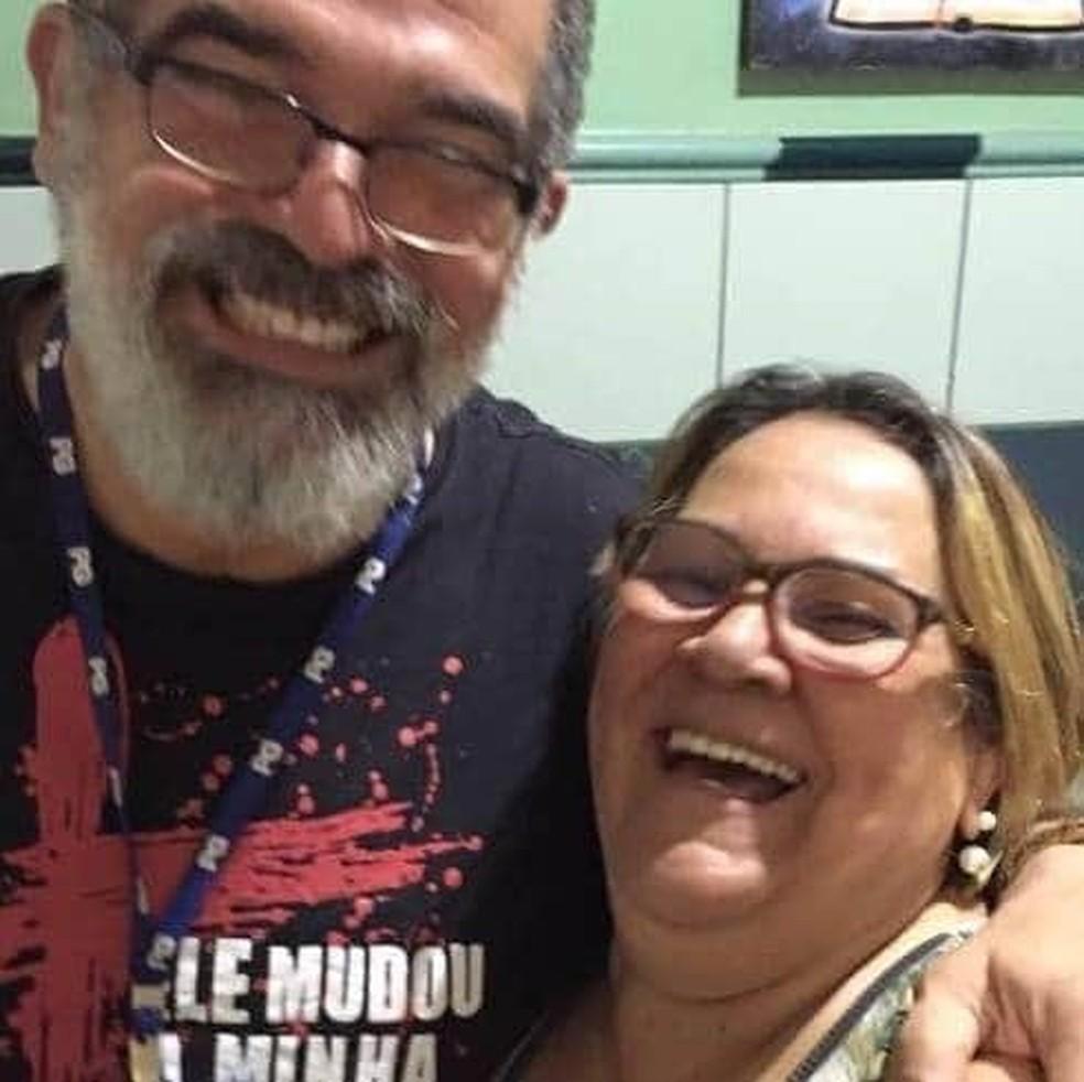 De acordo com filha, pai e mãe eram muito unidos e alegres — Foto: Arquivo pessoal