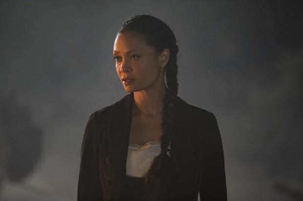 Thandie Newton na pele de Maeve Millay em Westworld (Foto: John P. Johnson_HBO)