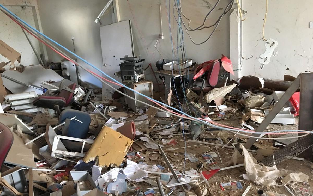 Grupos explodem caixas eletrônicos em Puxinanã e São João do Cariri, na PB
