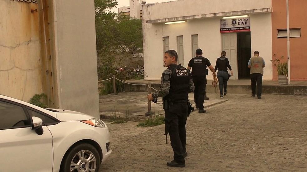 Operação Cactus aconteceu na madrugada desta sexta-feira (30), em Campina Grande — Foto: Reprodução/TV Paraíba