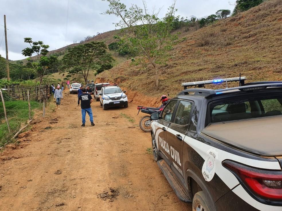 Vaqueiro foi morto na zona rural de Conceição de Tronqueiras, distrito de Coroaci — Foto: Polícia Civil