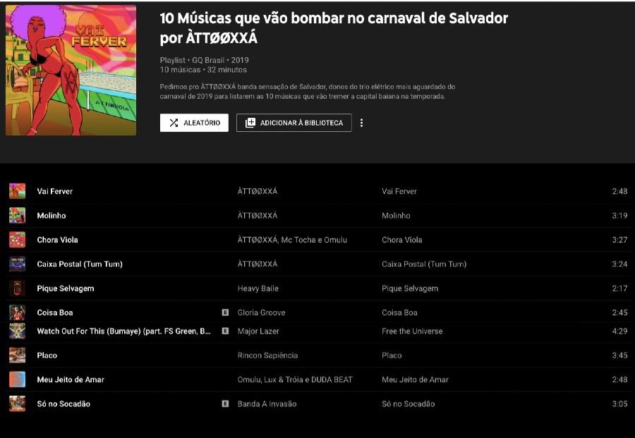 ÀTTØØXXÁ, a banda sensação de Salvador, lista as músicas que bombar no Carnaval 2019 (Foto:  )