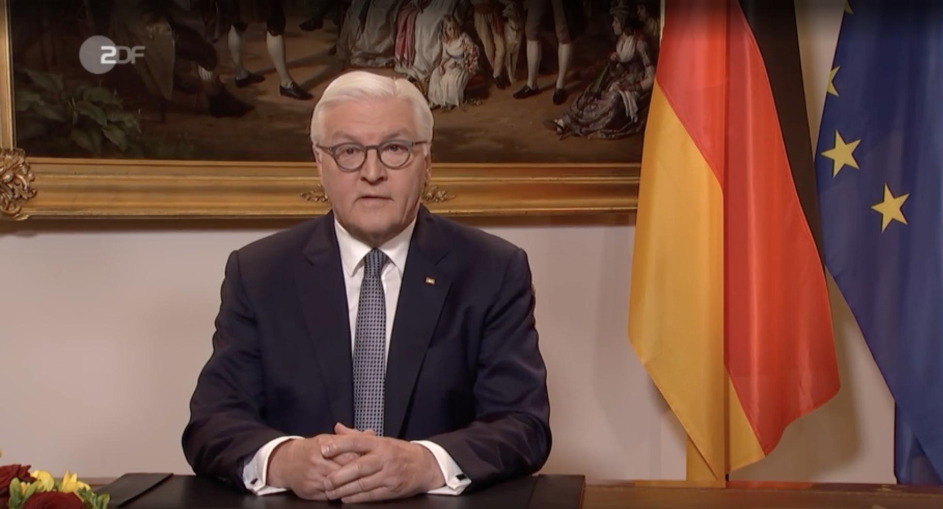 Em aparição excepcional, presidente alemão diz que pandemia é 'teste de humanidade'