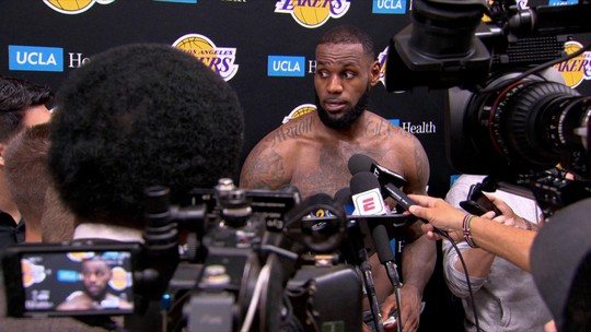 Chegada de LeBron James agita cobertura jornalistica do Los Angeles Lakers