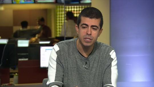 """Rubro-negro, ator Marcius Melhem revela simpatia pelo Botafogo: """"Me vi torcendo"""""""