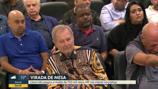MP vai cobrar na justiça a multa da Liesa por não rebaixar escola de samba