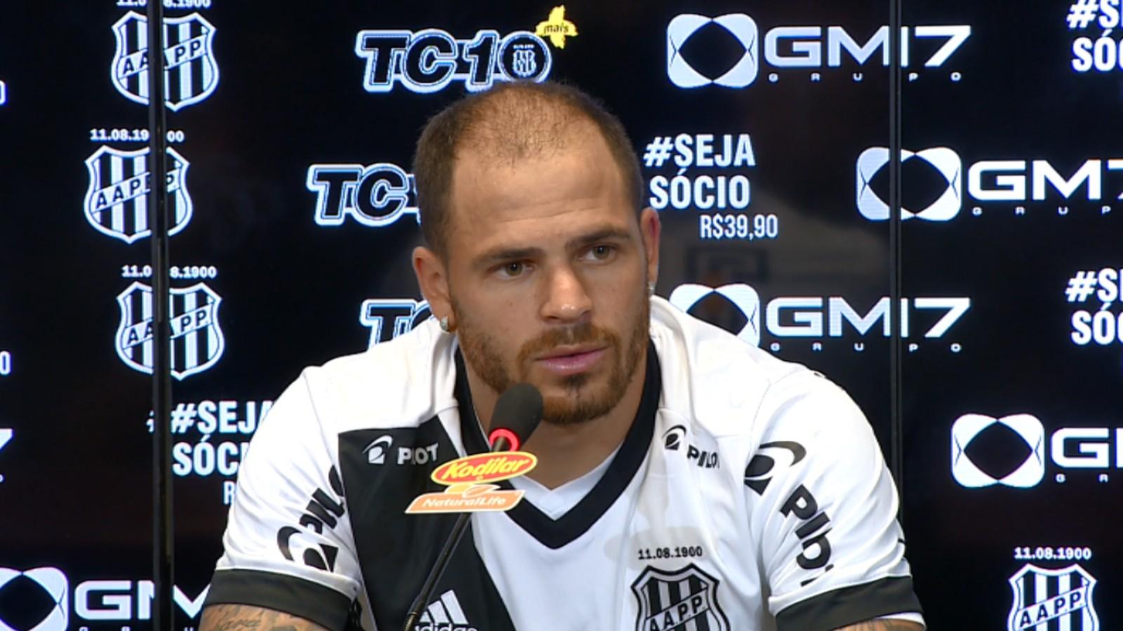 Silvinho concede entrevista no Moisés Lucarelli (Foto: Carlos Velardi / EPTV)