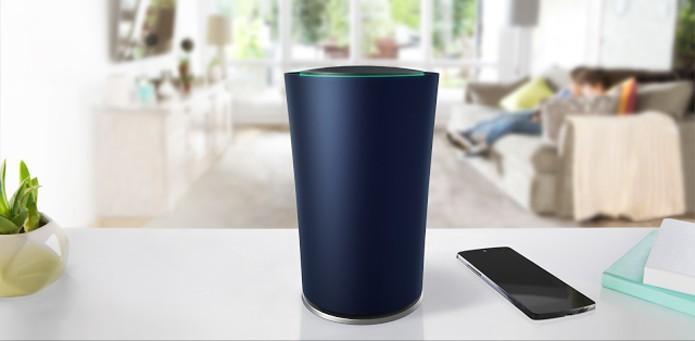 Uma das aplicações para o Fuchsia seria em Internet das Coisas, como no roteador OnHub (Foto: Divulgação/Google)