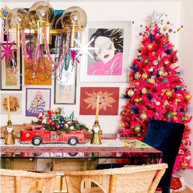 """""""Eu nunca comi uma única refeição na minha mesa de jantar. Talvez este Natal seja o ano!"""" (Foto: Reprodução/ Instagram) (Foto: Reprodução/ Instagram)"""