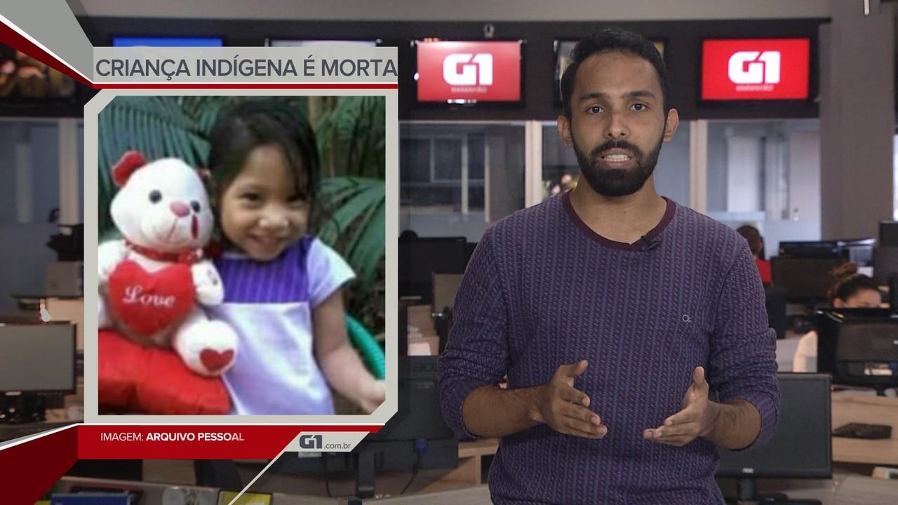 G1 em 1 Minuto: Criança indígena é encontrada morta na região de Arame, no Maranhão