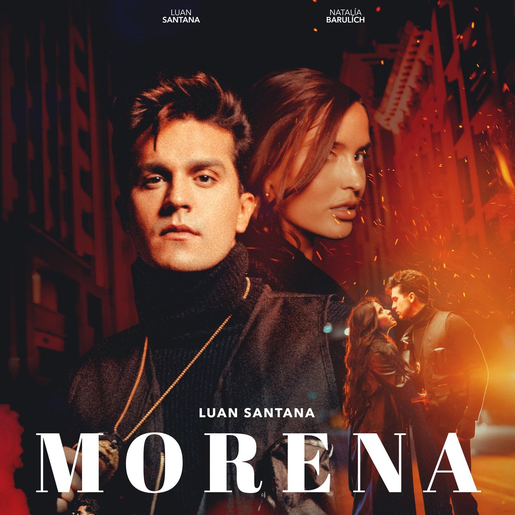 Luan Santana anuncia lançamento do single 'Morena' e de clipe filmado com Natalía Barulích